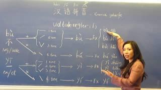 Lær kinesisk med Renmei, Kinesisk lydskrift - hàn yŭ pīn yīn 汉语拼音