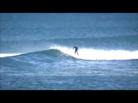 Surfing in Ireland, at Tullan Strand. Bundoran. Co Donegal.