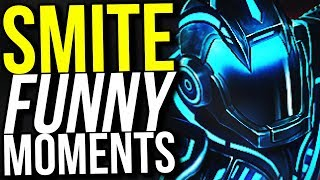 100% CRIT HUN BATZ BUILD! (Smite Funny Moments)