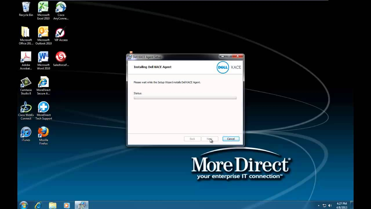 dell kace client install - YouTube 6814cda55