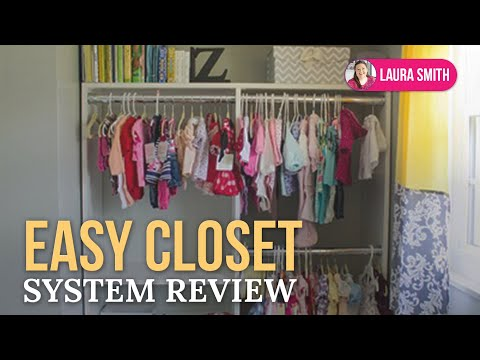 Easy Closet System Review   YouTube