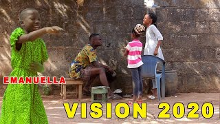 VISION 2020 - EMANUELLA (MARK ANGEL COMEDY) - (Mind of Freeky Comedy) Latest Nigeria Comedy