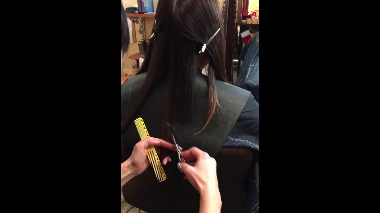 Textured Long Bob Haircut Youtube