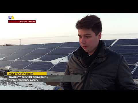 Ukraine's Renewable Energy Boom: Canadian Investor Turns Abandoned Factory Into Solar Power Plant