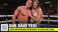 Josh Brueckner Proposes To Girlfriend Katie Betzing After Winning Boxing Pro-Debut