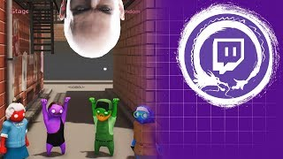 Gang Beasts & Hitman | Casual Friday | Stream Four Star