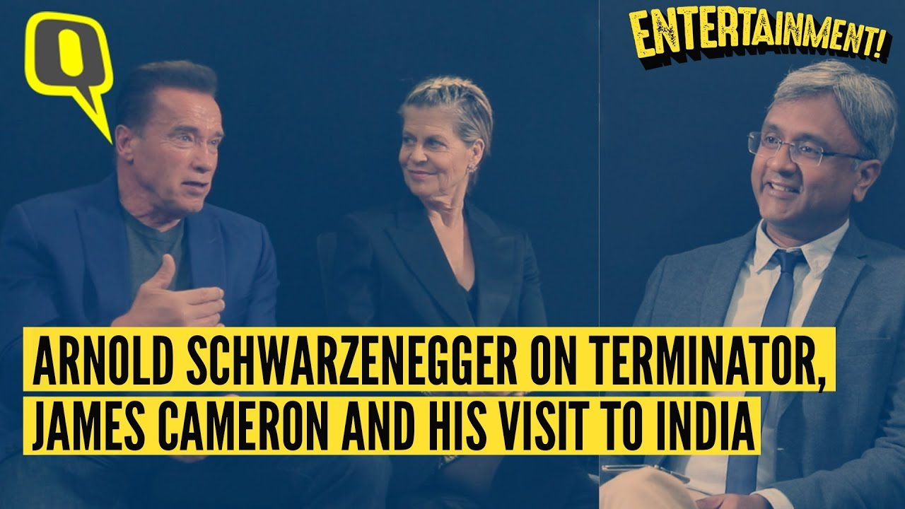 Arnold Schwarzenegger on Terminator, James Cameron and His Visit To India| The Quint