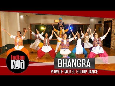 Bhangra Group Dance