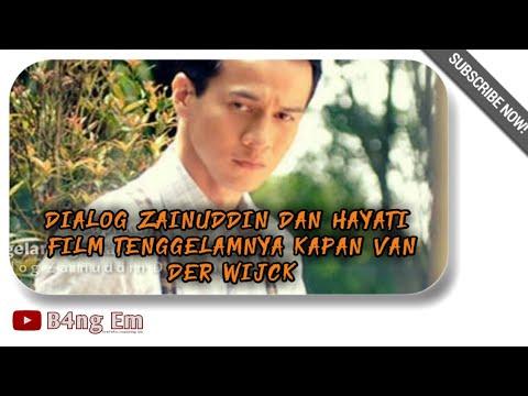 Dialog ZAINUDDIN DAN HAYATI Film Buya Hamka | Tenggelamnya Kapal Van Der Wijck |Text Dialog