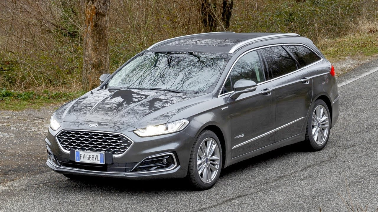 2020 Ford Mondeo Vignale Hybrid Wagon Grey Youtube