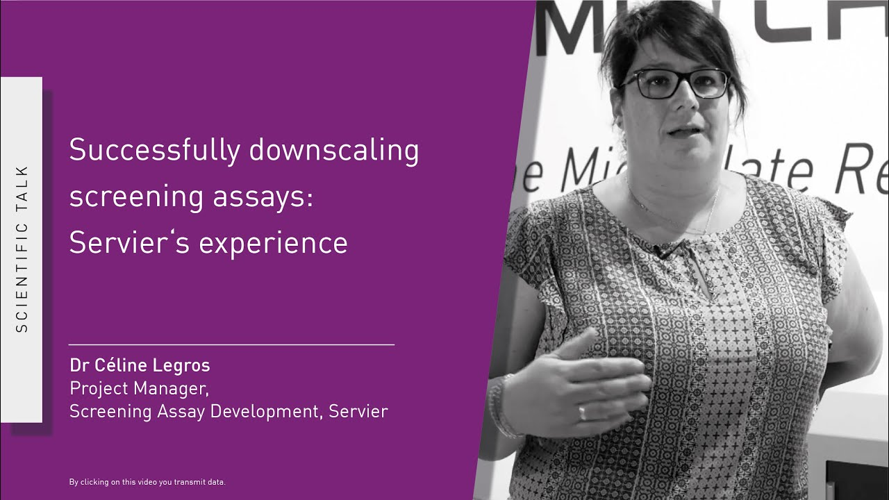 Successfully downscaling screening assays: Servier´s experience