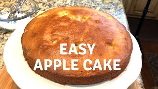 Easiest Apple Cake Recipe - Super moist and delicious - Breakfast Cake