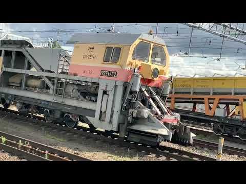 Служебные поезда и вагоны, строительные и путевые машины РЖД