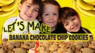 Banana Chocolate Chip Cookie Recipe - Youtube