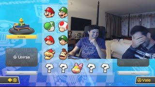 MARIO KART 8: VEGETTA VS WILLYREX | LA REVANCHA