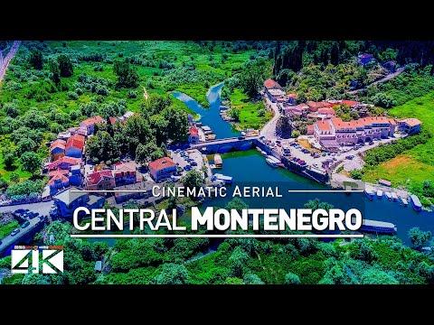 【4K】Drone Footage | Central Montenegro - Podrogica | Skadar Lake | Virpazar | Bar | Cinematic Aerial