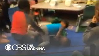 "Video shows ""fight club"" at St. Louis daycare"