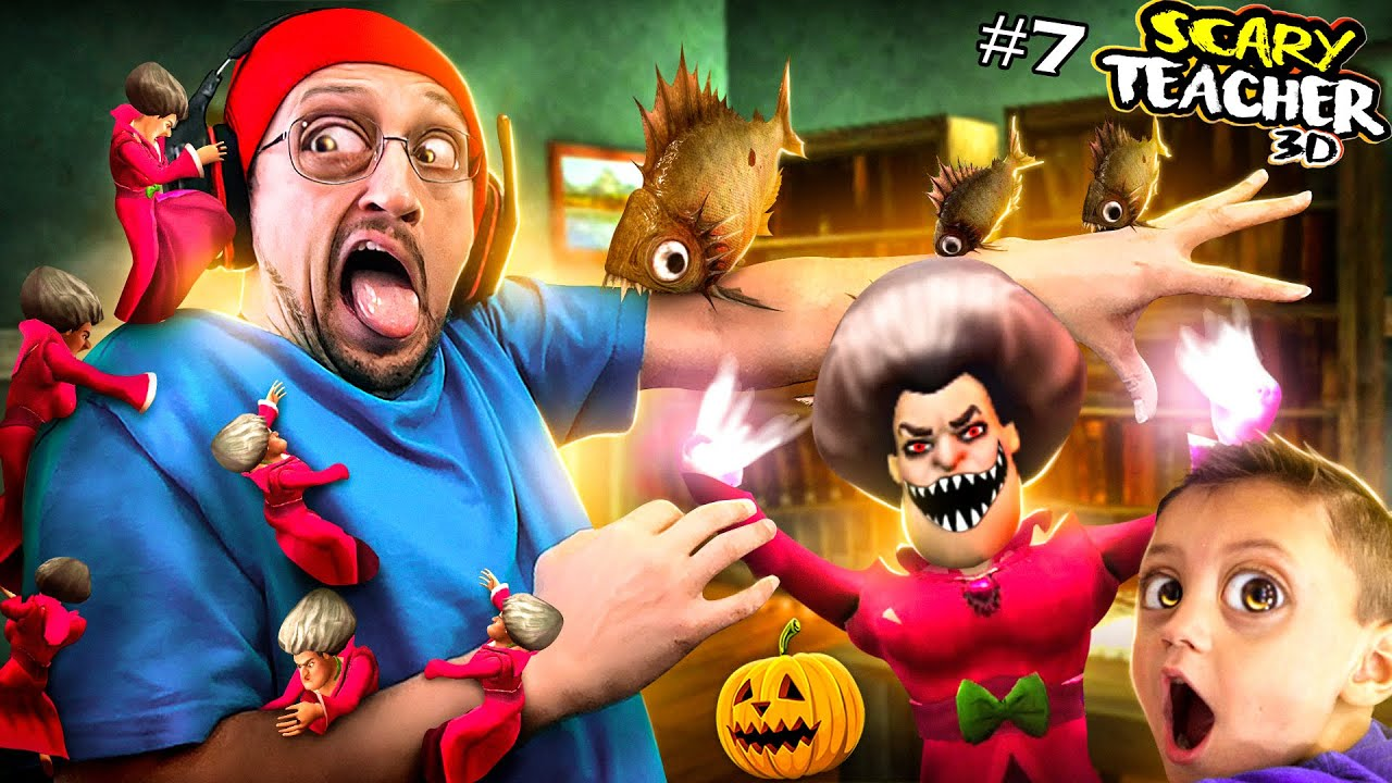 Download Honey, I SHRUNK the Scary Teacher!!  Miss T Competition Special Chapter! (FGTeeV)
