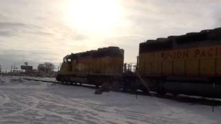 (HD) FULL POWER From STOP! GREAT SOUND! (EMD) SD40-2