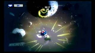 Rayman Raving Rabbids TV Party ~ Sky Surfing Gameplay Video [INT]