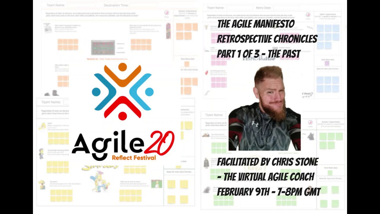 Recordings available for Agile 20 Reflect Retrospective Chronicles
