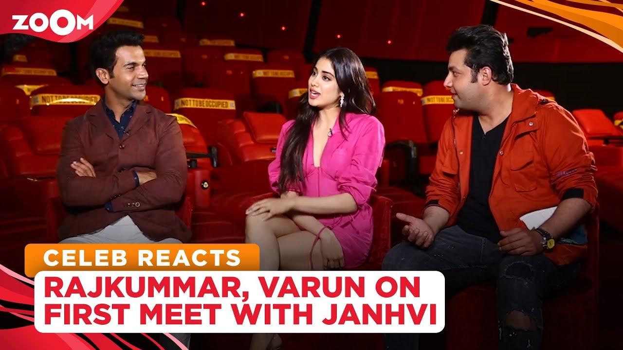 Roohi cast Rajkummar Rao & Varun Sharma recall the first time they met Janhvi Kapoor | Exclusive