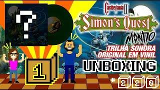 UNBOXING | CASTLEVANIA II: Simon's Quest LP! Trilha sonora OFICIAL do jogo em vinil!