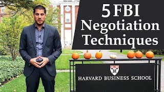 5 FBI Persuasion Techniques for Business, Marketing & Negotiation