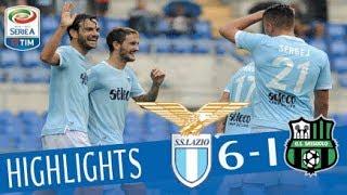Lazio - Sassuolo - 6-1 - Highlights - Giornata 7- Serie A TIM 2017/18