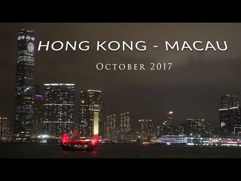 Hong Kong - Macau Trip October 2017