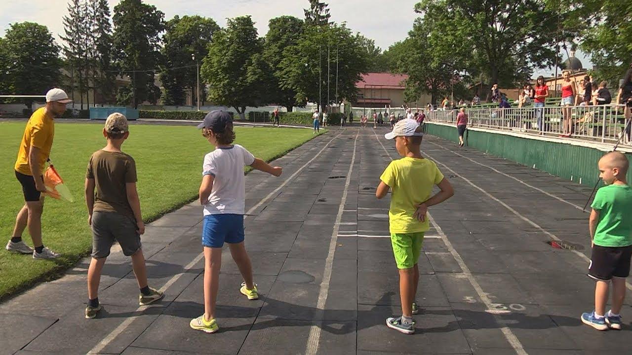 Олімпійський день бігу відзначили у Коломиї (відеосюжет)