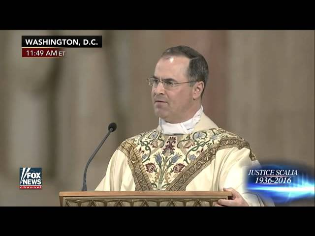 Inspiring: Justice Scalia's Son Preaches Powerful Christ-Centered
