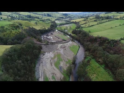 Glenelly Valley spectacular drone footage showing impacts of Aug 22nd 2017 flooding, six months on