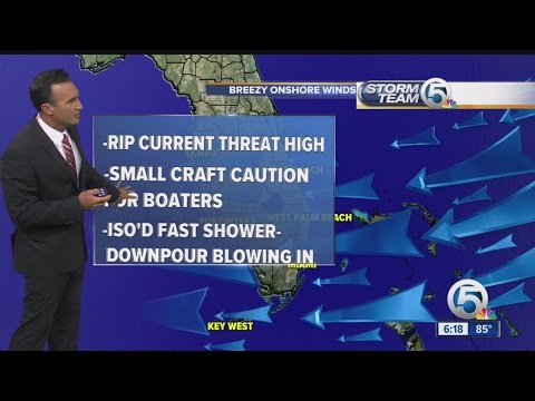 South Florida weather 05/24/15 - evening report