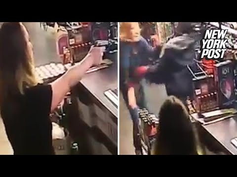 Liquor store clerks defend themselves in this Wild West shootout | New York Post