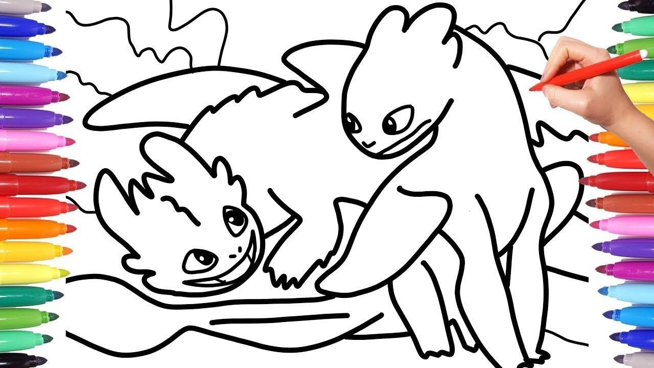 - Kid - How To Train Your Dragon Coloring Pages How To Draw