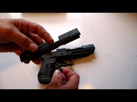 Walther P22 Catastrophic Failure of Gun while shooting.