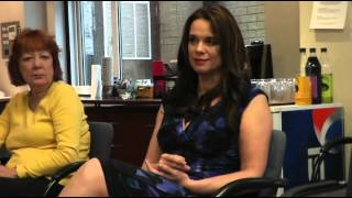 Chase Masterson and Lolita Fatjo interviewed at the SciFi Ball by TrekMate