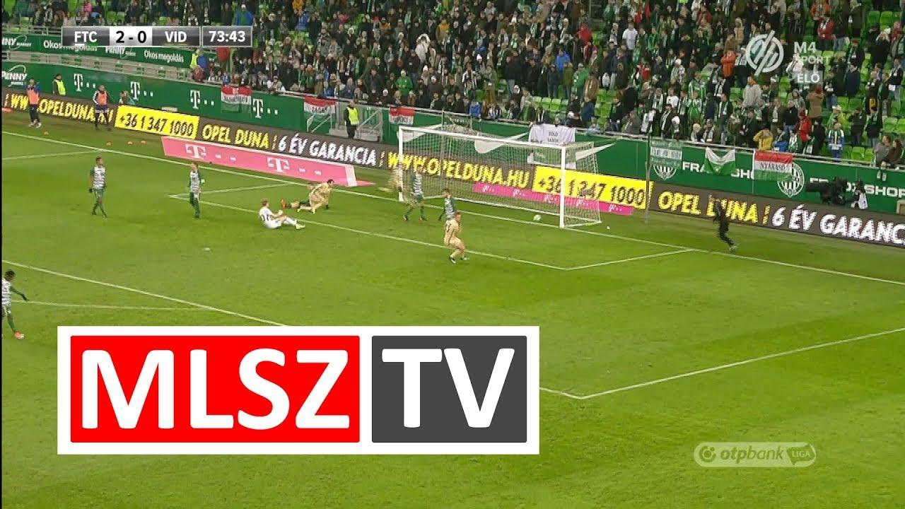 Lazovic Danko gólja a Ferencvárosi TC - Videoton FC mérkőzésen