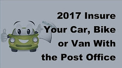2017 Insure Your Car, Bike or Van With the Post Office