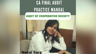 Chapter 13 - Audit of Cooperative Society (Practice Manual)