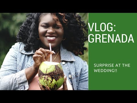 Vlog: Went to Grenada to surprise my cousin on her wedding day!