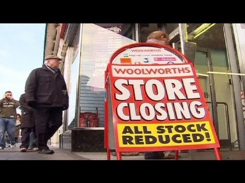 Closing time for record number of UK shops