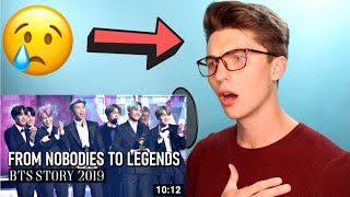 Download lagu VOCAL COACH Reacts to BTS FROM NOBODIES TO LEGENDS (this is an INCREDIBLE story)