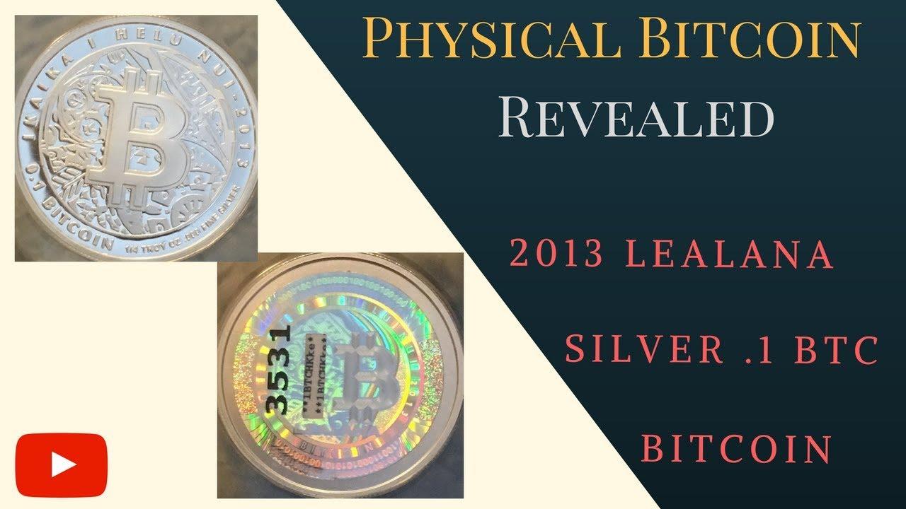 lealana physical bitcoins and litecoins