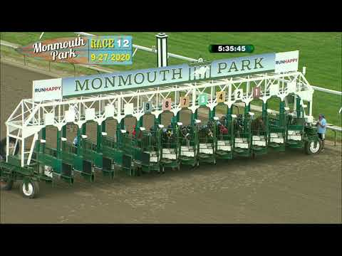 video thumbnail for MONMOUTH PARK 09-27-20 RACE 12