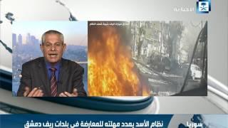 رحال: إيران و حزب الله هما الحاكمان العسكريان في سوريا لأن نظام الأسد ليس له قدرات عسكرية