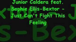 Скачать Junior Caldera Feat Sophie Ellis Bextor Just Can T Fight This Feeling