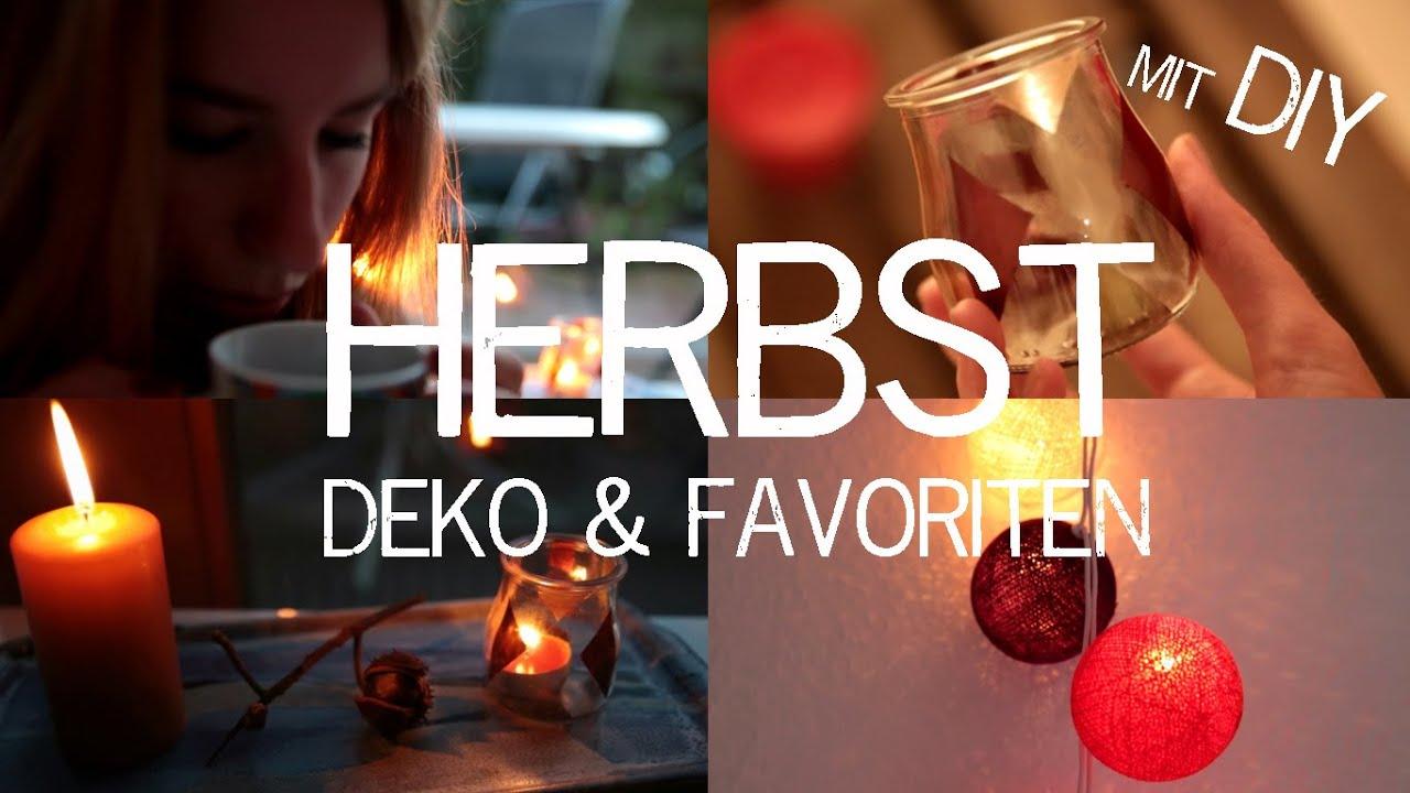 HERBST DEKO  FAVORITEN mit DIY Ideen  kekulo  YouTube