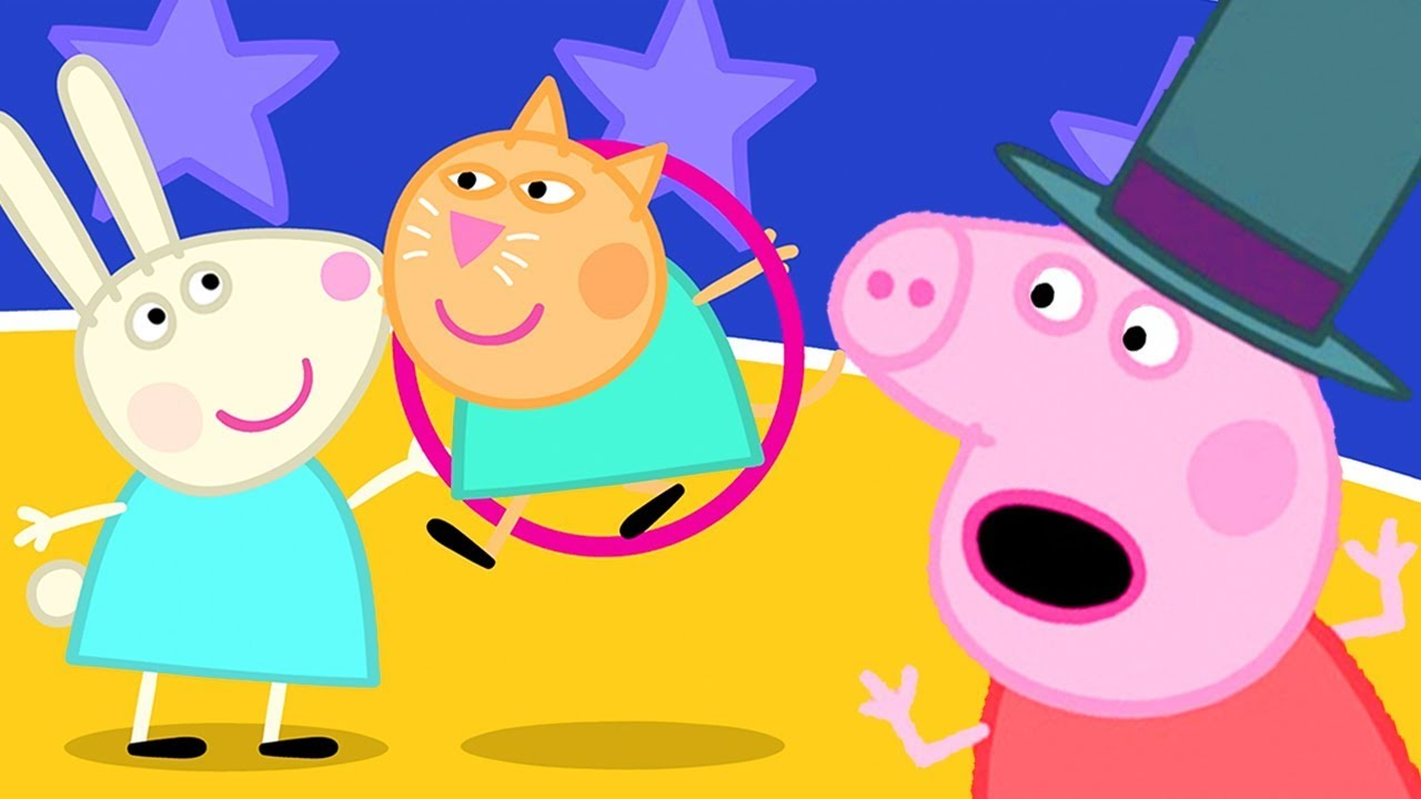 Peppa Pig Official Channel Celebrate The New Year At Peppa